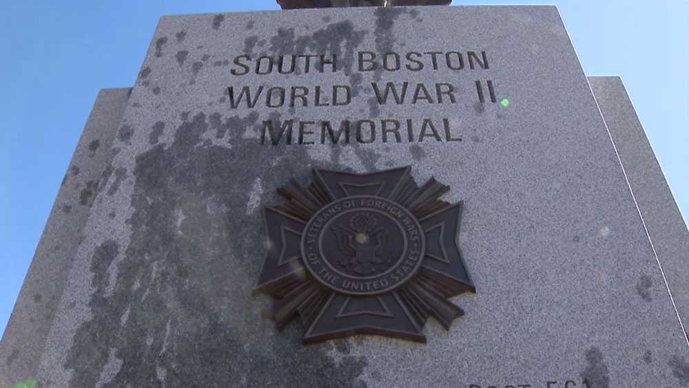 140 – Defaced WWII Monument