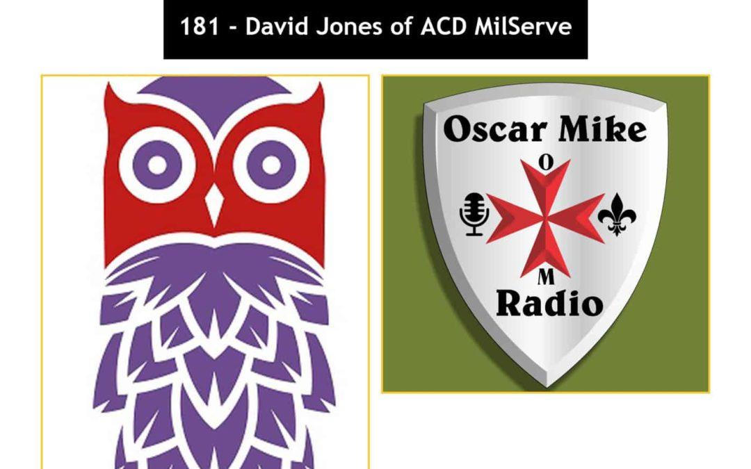 181 David Jones of ACD MilServe