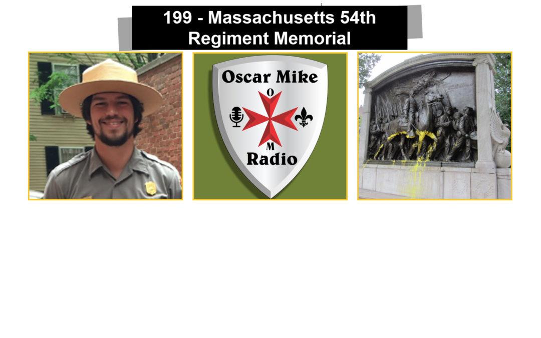 199 Massachusetts 54th Regiment – The Shaw Memorial