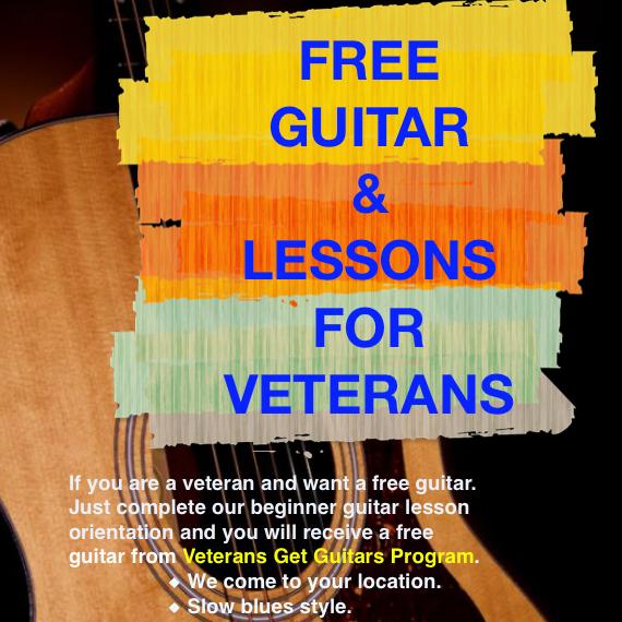 Veterans Get Guitars Experience – 08/30/20