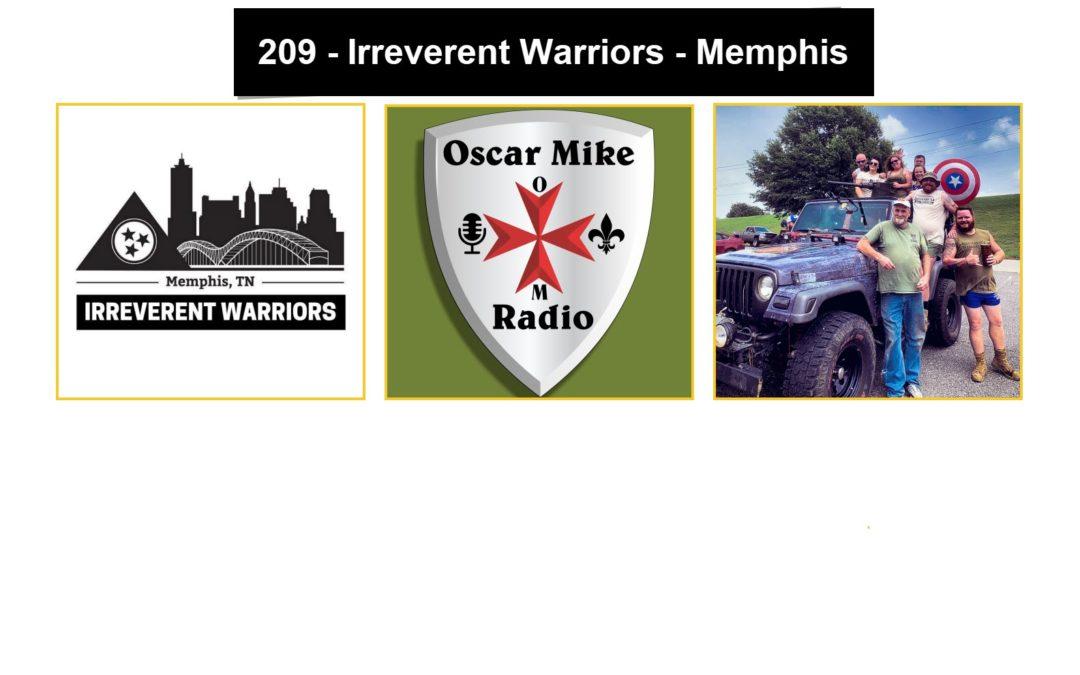 209 – Nick Sawall – Irreverent Warriors Memphis