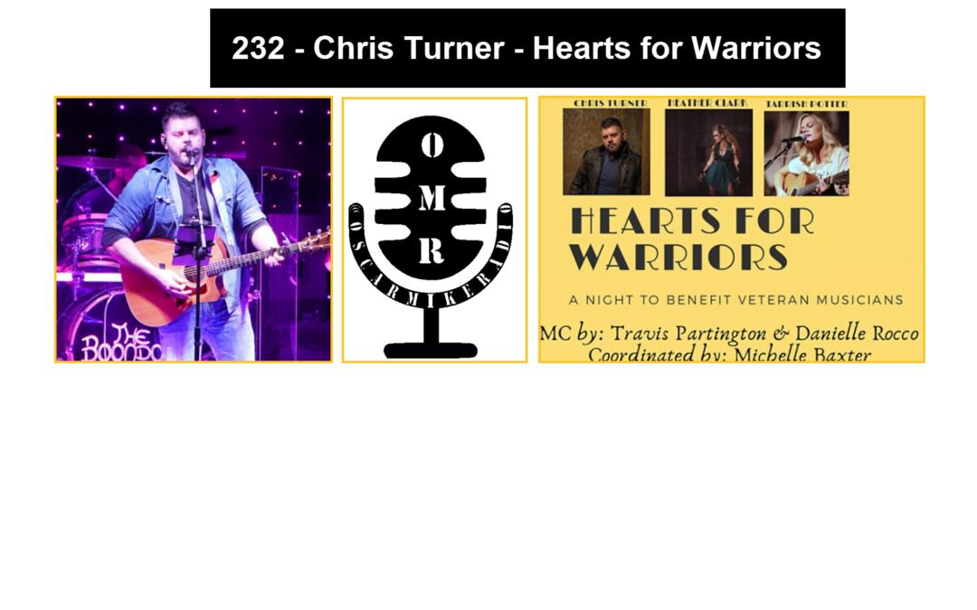 232 – Chris Turner – Hearts for Warriors